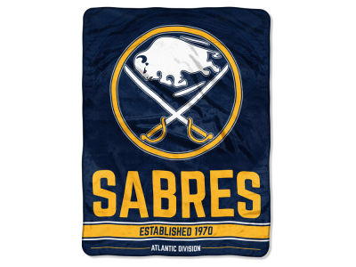 "Buffalo Sabres Micro Raschel 46x60 ""Break Away"" Blanket"