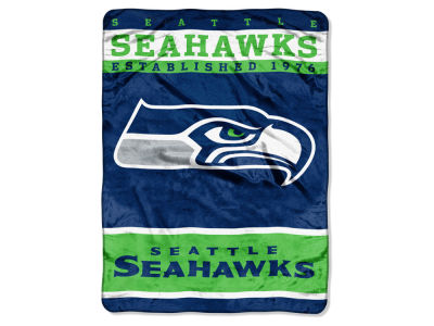 Seattle Seahawks 60x80 Raschel Throw