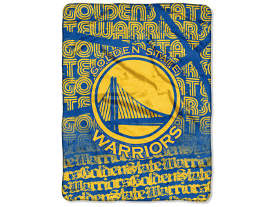 "Golden State Warriors Micro Raschel Throw 46x60 ""Redux"""