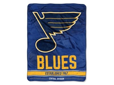 "St. Louis Blues The Northwest Company Micro Raschel 46x60 ""Break Away"" Blanket"