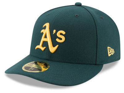 Oakland Athletics New Era MLB Low Profile Turn Back The Clock 59FIFTY Cap