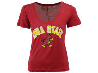 NCAA Women's Rayon V-Neck T-Shirt T-Shirts