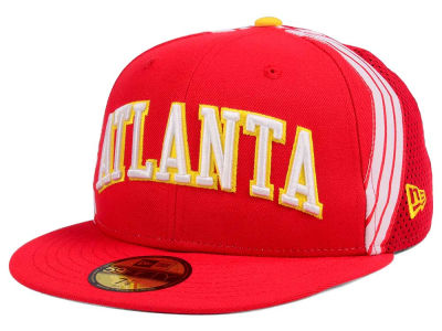 Atlanta Hawks New Era NBA Nights Collection 59FIFTY Cap