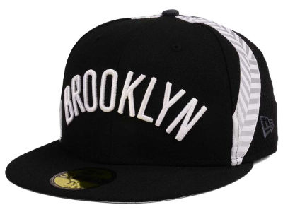 Brooklyn Nets New Era NBA Nights Collection 59FIFTY Cap