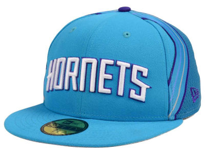 Charlotte Hornets New Era NBA Nights Collection 59FIFTY Cap