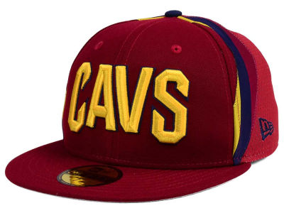 Cleveland Cavaliers New Era NBA Nights Collection 59FIFTY Cap