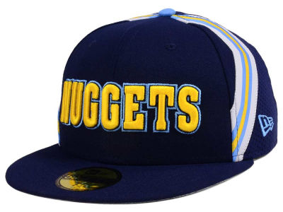 Denver Nuggets New Era NBA Nights Collection 59FIFTY Cap