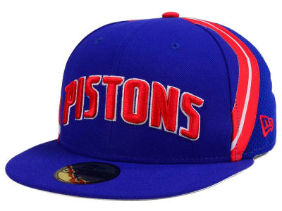Detroit Pistons New Era NBA Nights Collection 59FIFTY Cap