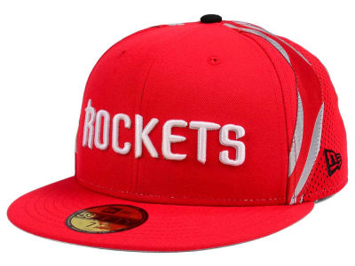 Houston Rockets New Era NBA Nights Collection 59FIFTY Cap