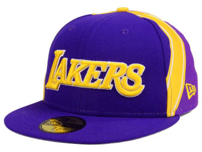 Los Angeles Lakers New Era NBA Nights Collection 59FIFTY Cap