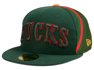 Milwaukee Bucks New Era NBA Nights Collection 59FIFTY Cap
