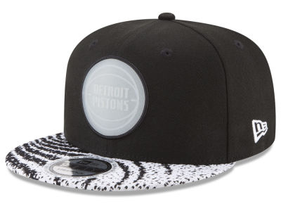 Detroit Pistons New Era NBA Boost Redux 9FIFTY Snapback Cap