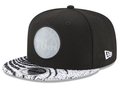 Philadelphia 76ers New Era NBA Boost Redux 9FIFTY Snapback Cap