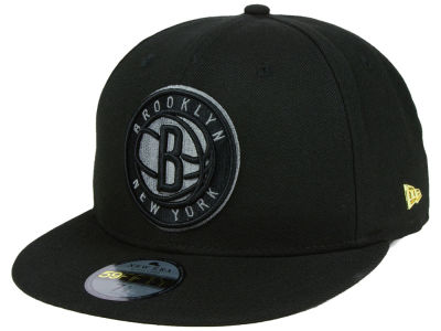 Brooklyn Nets New Era NBA Black Label Essential 59FIFTY Cap