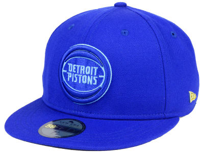 Detroit Pistons New Era NBA Black Label Essential 59FIFTY Cap