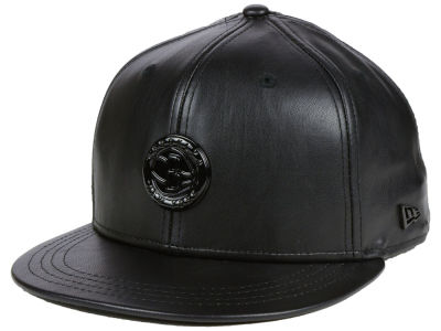 Brooklyn Nets New Era NBA Black List Glossy Metal 9FIFTY Snapback Cap