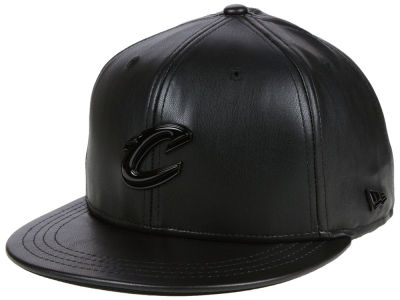 Cleveland Cavaliers New Era NBA Black List Glossy Metal 9FIFTY Snapback Cap