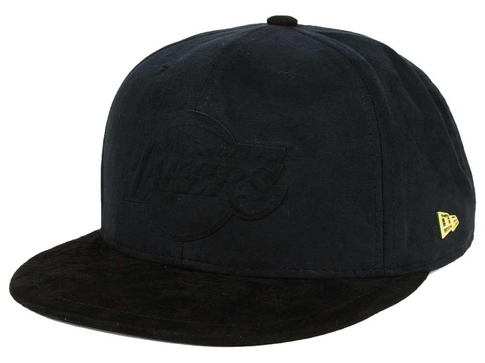 760d2023270 Los Angeles Lakers New Era NBA Black Label Snakeskin 9FIFTY Snapback Cap