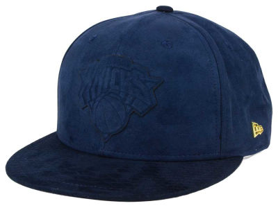 New York Knicks New Era NBA Black Label Snakeskin 9FIFTY Snapback Cap