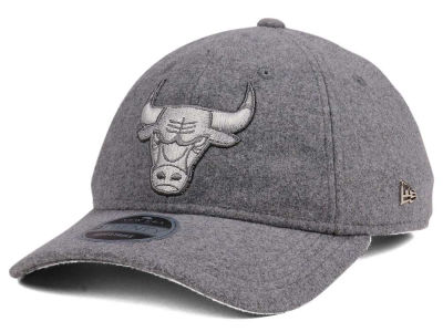 Chicago Bulls New Era NBA Black Label Cashmere 9TWENTY Cap