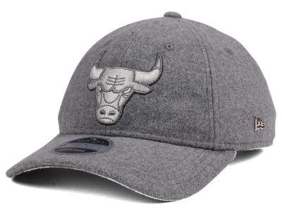 b4a62fea441 Chicago Bulls New Era NBA Black Label Cashmere 9TWENTY Cap