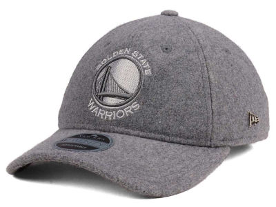 Golden State Warriors New Era NBA Black Label Cashmere 9TWENTY Cap