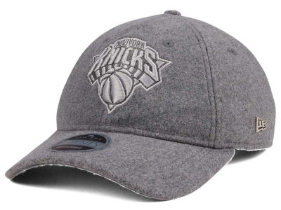 New York Knicks New Era NBA Black Label Cashmere 9TWENTY Cap