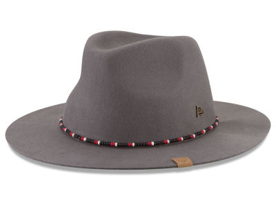Chicago Bulls New Era NBA Black Label Beaded Brim Fedora