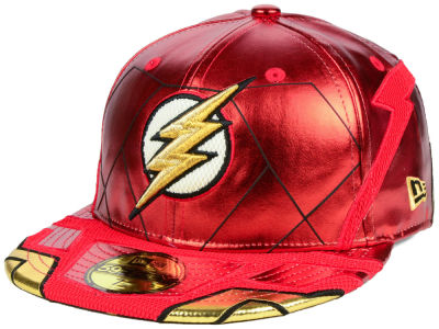 DC Comics Justice League The Flash 59FIFTY Cap