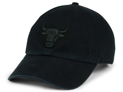 Chicago Bulls '47 NBA Black on Black '47 CLEAN UP Cap