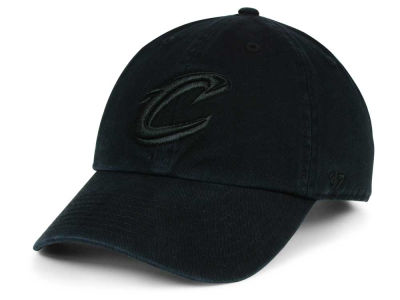 Cleveland Cavaliers '47 NBA Black on Black '47 CLEAN UP Cap