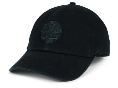 Golden State Warriors '47 NBA Black on Black '47 CLEAN UP Cap