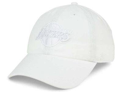 Los Angeles Lakers '47 NBA White '47 CLEAN UP Cap