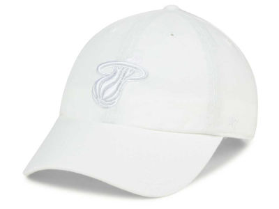 Miami Heat '47 NBA White '47 CLEAN UP Cap