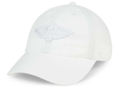 New Orleans Pelicans '47 NBA White '47 CLEAN UP Cap