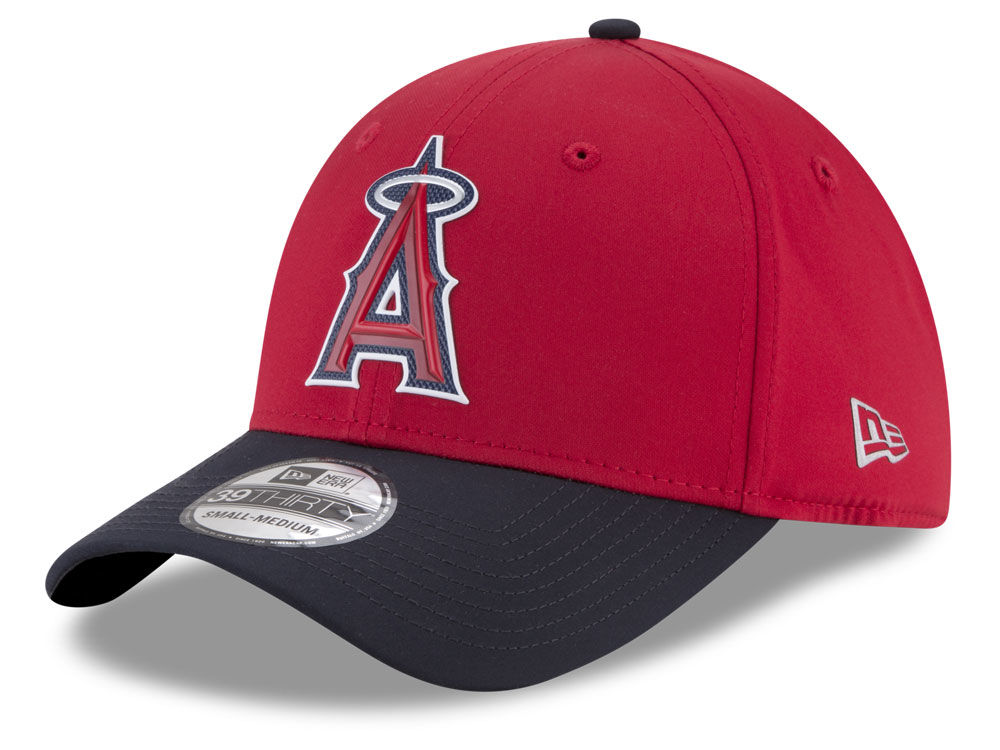 new product 378b1 24192 ... sale los angeles angels new era mlb batting practice prolight 39thirty  cap lids f6000 5d8cd