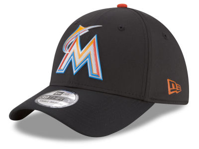 Miami Marlins New Era MLB Batting Practice Prolight 39THIRTY Cap