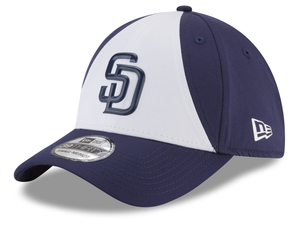 San Diego Padres New Era MLB Batting Practice Prolight 39THIRTY Cap ... 3265bad2b17