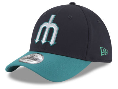 Seattle Mariners New Era MLB Batting Practice Prolight 39THIRTY Cap