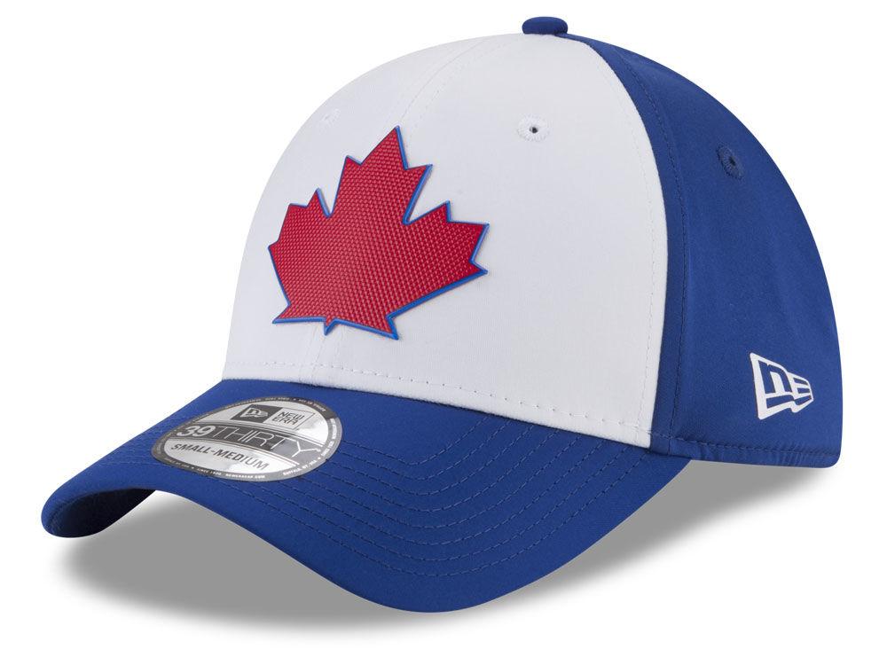 Toronto Blue Jays New Era MLB Batting Practice Prolight 39THIRTY Cap ... afd32083d40