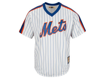 New York Mets Majestic MLB Men's Cooperstown Blank Replica Cool Base Jersey
