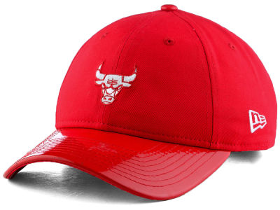 Chicago Bulls New Era NBA Scarlet Hook 9TWENTY Cap
