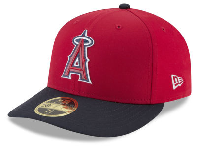 Los Angeles Angels New Era MLB Batting Practice Prolight Low Profile 59FIFTY Cap