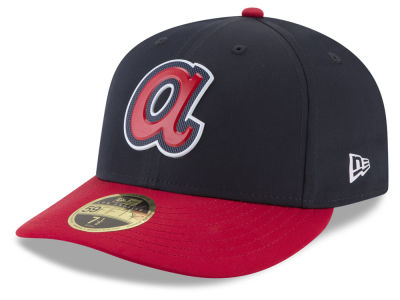 Atlanta Braves New Era MLB Batting Practice Prolight Low Profile 59FIFTY Cap