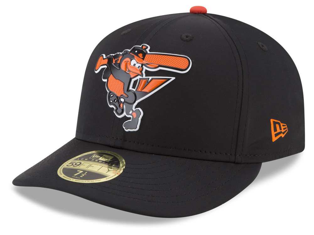 timeless design bbb19 a6980 ... clearance baltimore orioles new era mlb batting practice prolight low  profile 59fifty cap 375be 6c802