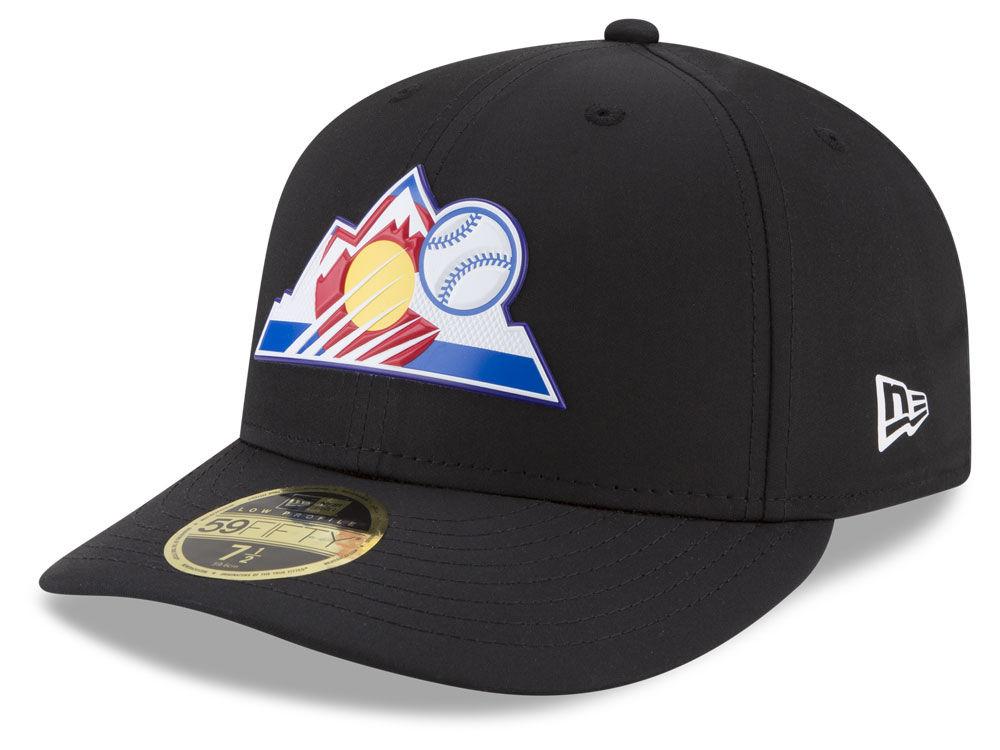 Colorado Rockies New Era MLB Batting Practice Prolight Low Profile 59FIFTY  Cap  393e48cec8f2