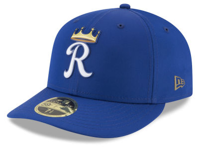 Kansas City Royals New Era MLB Batting Practice Prolight Low Profile 59FIFTY Cap