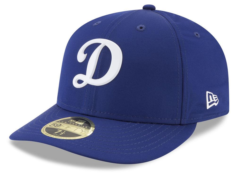 Los Angeles Dodgers New Era MLB Batting Practice Prolight Low Profile  59FIFTY Cap  8276a369e55