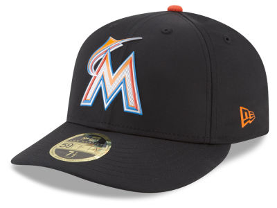 Miami Marlins New Era MLB Batting Practice Prolight Low Profile 59FIFTY Cap