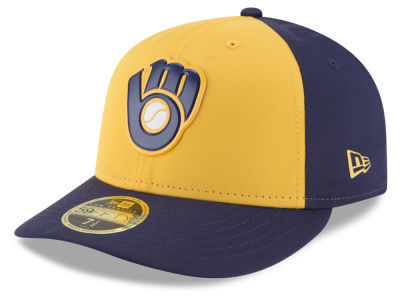 Milwaukee Brewers New Era MLB Batting Practice Prolight Low Profile 59FIFTY Cap